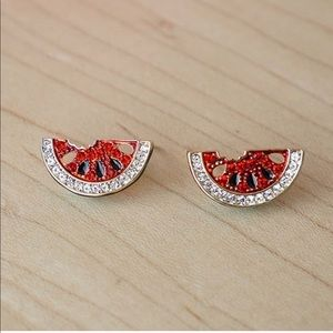 Jewelry - 💎 Adorable Red Watermelon Earring Studs 🍉